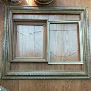 Vintage wood picture/ painting frames.
